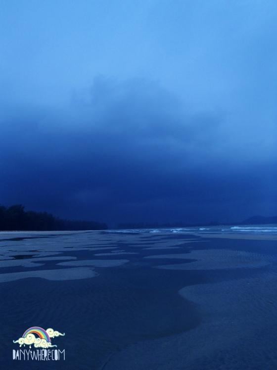 Cherating Beach Storm